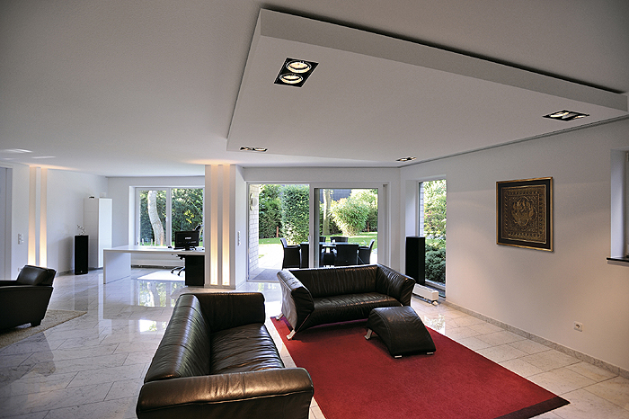 razsvetljava dnevne sobe schrack technik. Black Bedroom Furniture Sets. Home Design Ideas